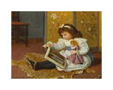 Storytime Premium Giclee Print by Charles Haigh-Wood