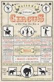 Watson's Circus Giclee Print
