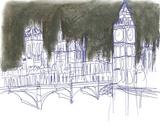 London Giclee Print by Katrien Soeffers