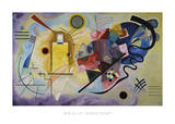 Yellow, Red, and Blue, 1925 Pósters por Wassily Kandinsky