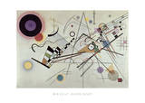 Composizione N. 8, 1923 Poster di Wassily Kandinsky