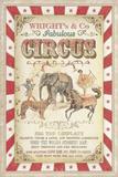 Wright's Fabulous Circus Giclee Print