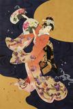 Futatsu Ogi Reproduction procédé giclée par Haruyo Morita