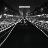 Paul Almasy - Street Scene at Night, 1950 Digitálně vytištěná reprodukce