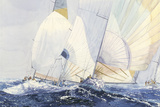 Spinnakers Giclee Print by Dan Jacobson