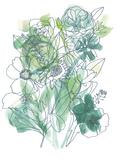 Flower Burst III Giclee Print by Katrien Soeffers