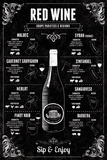 Red Wine Guide Reproduction procédé giclée par Tom Frazier