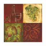 Wine Collage I Photographic Print by Gregory Gorham