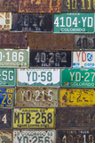 License Plates I Photographic Print by Kathy Mahan