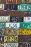 License Plates I Photographic Print by Kathy Mahan