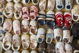 Baby Shoes IV Prints by Kathy Mahan