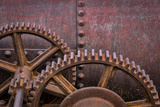 Rusty Gears II Photographic Print by Kathy Mahan