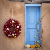 Blue Door II Photographic Print by Kathy Mahan
