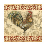 Toile Rooster III Photographic Print by Gregory Gorham