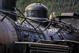 Historic Locomotive II Photographic Print by Kathy Mahan