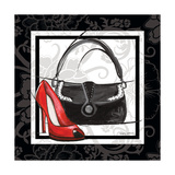 Purse and Shoe II Giclee Print by Gregory Gorham