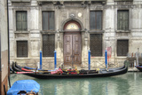 Venice Gondolas II Photographic Print by George Johnson