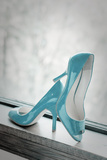 Blue Heels Prints by Erin Berzel