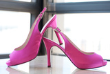 Pink Heels Prints by Erin Berzel
