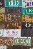 License Plates II Photographic Print by Kathy Mahan