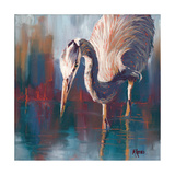 Urban Heron Photographic Print by Molly Reeves