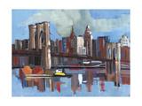 City Bridges I Photographic Print by PM Shore