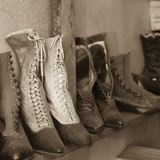 Vintage Boots Photographic Print by Kathy Mahan