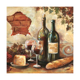 Bountiful Wine Sq II Photographic Print by Gregory Gorham