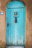 Blue Door III Photographic Print by Kathy Mahan