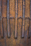 Rusty Metal V Photographic Print by Kathy Mahan