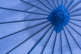 Blue Umbrella Photographic Print by Kathy Mahan