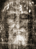 Shroud of Turin Face Detail Affiches
