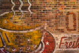 Brick Painting Photographic Print by Kathy Mahan