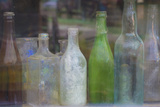 Old Bottles II Photographic Print by Kathy Mahan