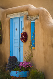 Blue Door IV Photographic Print by Kathy Mahan