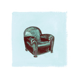 Frau Chair IV Photographic Print by Debbie Nicholas