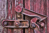 Train Lock Photographic Print by Kathy Mahan