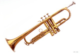 1930 Conn Trumpet Photographic Print by William Castner