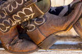Cowboy Boots I Photographic Print by Kathy Mahan
