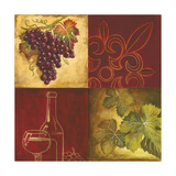 Wine Collage II Photographic Print by Gregory Gorham