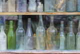 Old Bottles I Photographic Print by Kathy Mahan