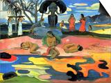 Mohana No Atua Prints by Paul Gauguin