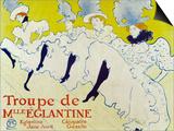 La Troup De Mlle Elegant Poster 1895 Láminas por Henri de Toulouse-Lautrec