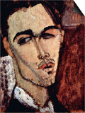 Portrait of Celso Laga Posters by Amedeo Modigliani