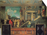 Entry of Maria in the Temple Prints by  Titian (Tiziano Vecelli)