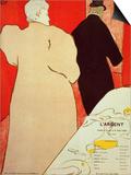 Largent Lámina por Henri de Toulouse-Lautrec