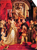 Medici Marriage in Florence Prints by Peter Paul Rubens