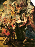The Medici's Queen Escapes from Blois Prints by Peter Paul Rubens
