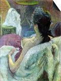 Resting Model Póster por Henri de Toulouse-Lautrec