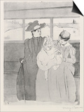 The Streetcar Posters by Mary Cassatt